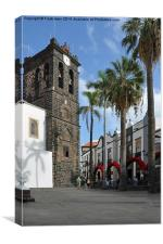 Funchal, the capital of Madeira, Canvas Print