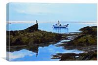 Bull Bay, Anglesey, North Wales, UK, Canvas Print