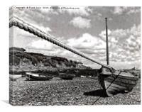 Old film camera shot in Bull bay, Canvas Print