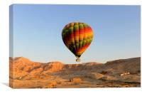 Egypt Balloon, Canvas Print