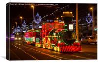 Blackpool tram, Canvas Print