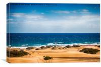 Playa del Ingles, Canvas Print