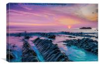 Purple Sunset, Canvas Print