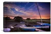 Beaumont Quay Starlight View, Canvas Print