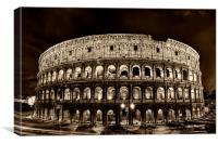 colosseum, coliseum, Canvas Print