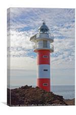 The Lighthouse of Punta de Teno                   , Canvas Print