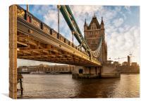 The Magnificent Tower Bridge, Canvas Print