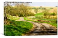Thixendale Road, Canvas Print