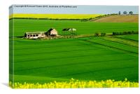 East Yorkshire Wolds, Canvas Print