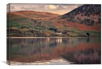 """""""Reflections at Ennerdale water 2"""", Canvas Print"""