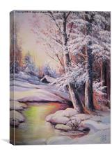 A nice painting 3, Canvas Print