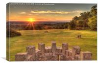 The Lickey Hills - Birmingham / Worcestershire , Canvas Print