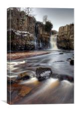 High Force Waterfall, Teesdale., Canvas Print