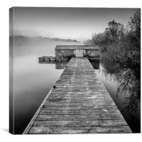 Earlswood Lakes, Warwickshire, Canvas Print