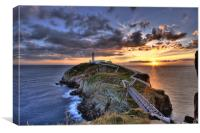 South Stack Lighthouse, Canvas Print