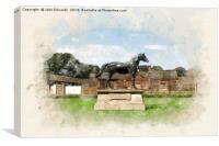 The Royal Stud, Sandringham , Canvas Print
