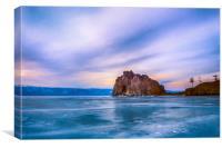 Shaman Rock, lake Baikal, Canvas Print