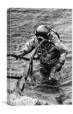 Deep Sea Diver, Canvas Print