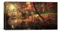 Dreamy Autumn Forest, Canvas Print