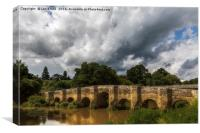 Stopham Bridge, near Pulborough, Canvas Print