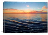 Tranquility at Sunset, Canvas Print