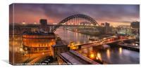 Newcastle Cityscape, Canvas Print