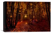 Electric Forest, Canvas Print