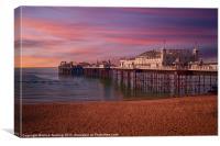 Brighton Pier Sunrise, Canvas Print