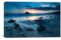 Mount Sunset, Canvas Print