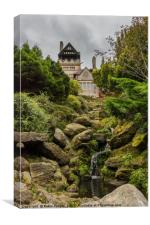 Moody Cragside, Canvas Print