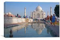 Taj Mahal, Canvas Print