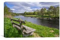 River Spey, Scotland, Canvas Print