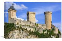 Château de Foix, France, Canvas Print