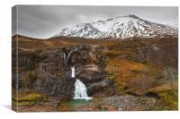 Meeting of Three Waters, Glencoe, Scotland, Canvas Print