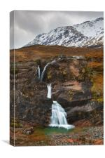 Meeting of Three Waters, Glen Coe, Scotland, Canvas Print