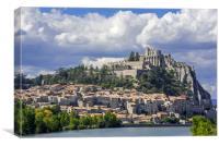 Citadel of Sisteron, Provence, France, Canvas Print