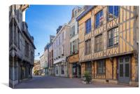 Troyes, France, Canvas Print