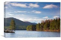 Loch an Eilean, Scotland, Canvas Print