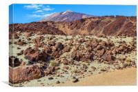Desert in the sky, Canvas Print