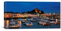 Ilfracombe by night, Canvas Print