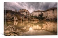 The Old Bridge, Canvas Print