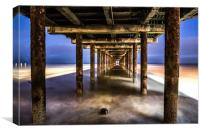 Under the Pier , Canvas Print