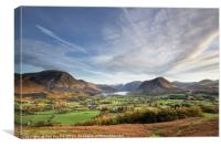 Low Fell View, Canvas Print
