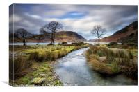 Mill Beck Crummock Water, Canvas Print
