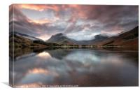 Buttermere New Day, Canvas Print