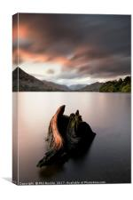 Ullswater Stump Sunrise, Canvas Print