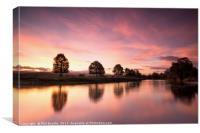 Eden Sunrise, Canvas Print