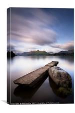 Isthmus Jetty Long Exposure, Canvas Print