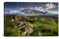First light Low Rigg, Canvas Print
