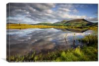 Clouds above Skiddaw, Canvas Print